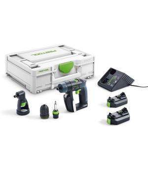 Аккумуляторная дрель-шуруповерт Festool CXS Li 2.6 Set