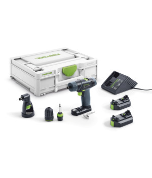 Аккумуляторная дрель-шуруповерт Festool TXS Li 2.6 Set