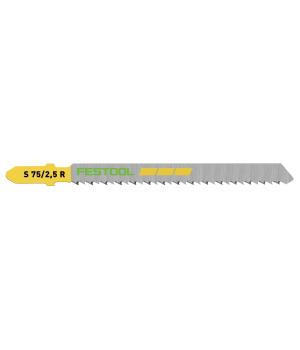 Пильное полотно Festool для лобзика S 75/2,5 R/5