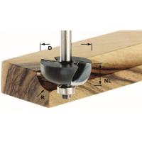 Фреза для изготовления желобка Festool HW S8 D38,1/R12,7 KL