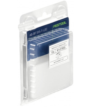 Бейдж контейнера Festool AB-BF Sys TL 55x85mm, компл. из 10 шт.